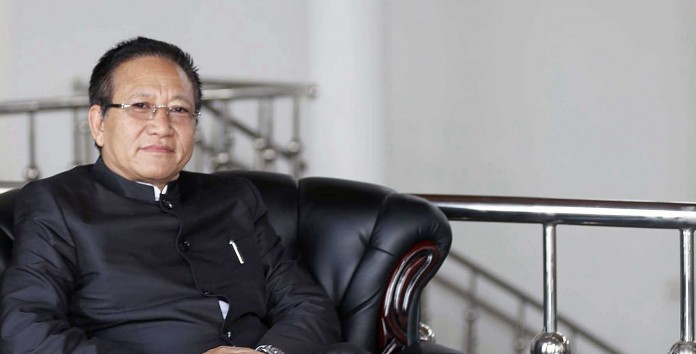 tr zeliang nagaland cheif minister