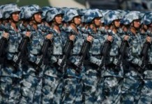 Chinese army conducts live-fire drills in Tibet