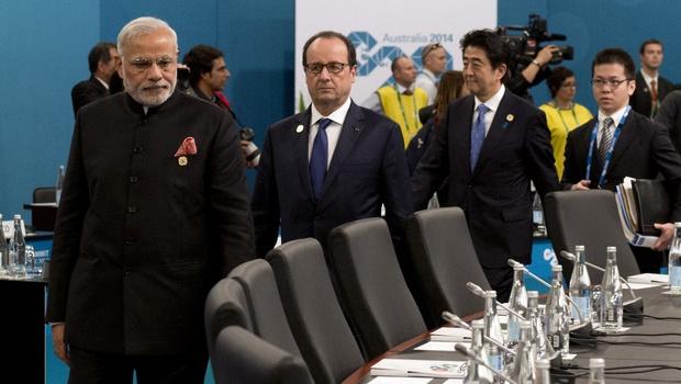 G 20 summit begins