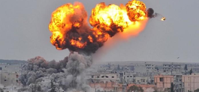 rakha damascus syria airstrike continues