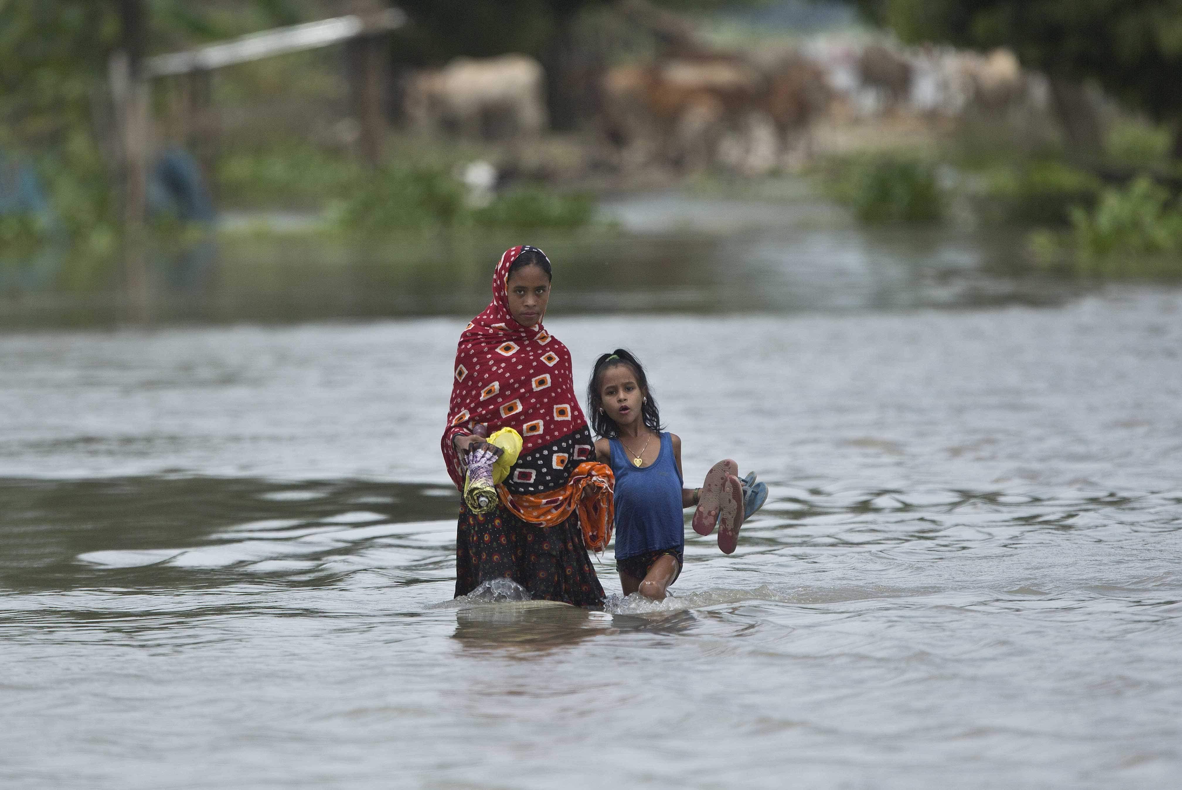 assam flood death toll touches 59 assam flood