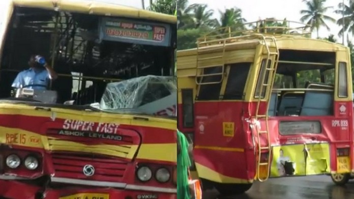 bus accident thrissur 25 killed