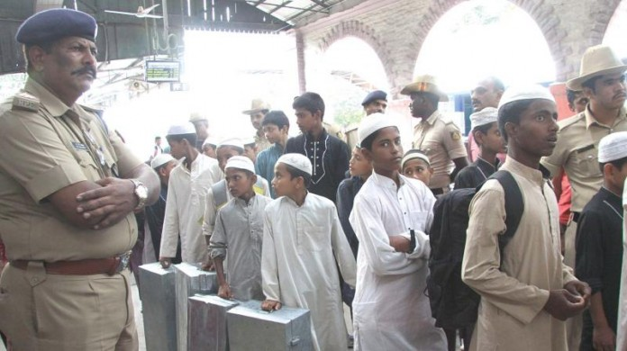186 madrasa students detained at railway station