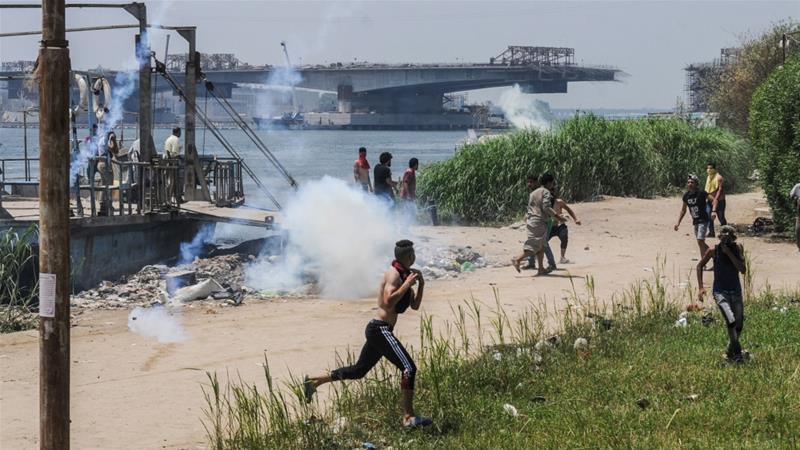 egypt firing one killed