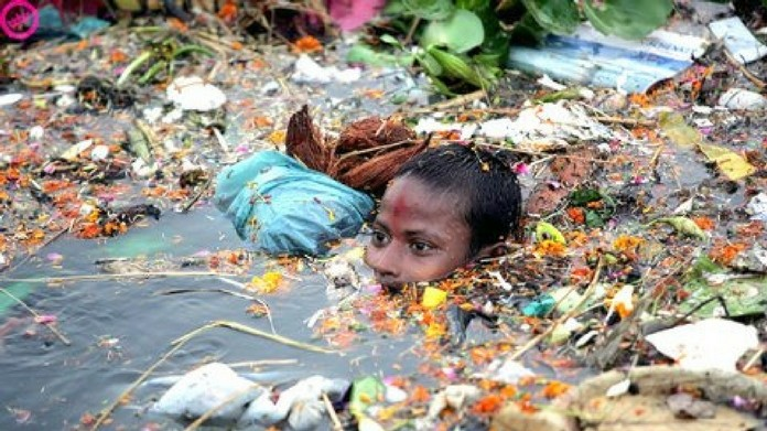fifty thousand find for littering around ganges river