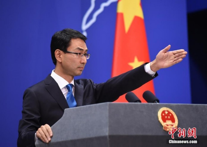 chinese spokesperson against indian army