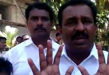 m vincent (1) vincent MLA in police custody