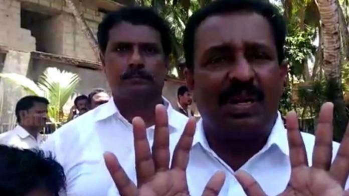 m vincent (1) vincent MLA in police custody