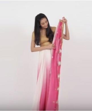 sari tips how to look slim in sari