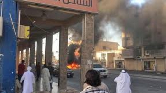 saudi najran fire 11 died