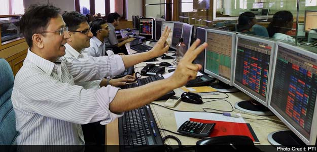 sensex closed with 300 points