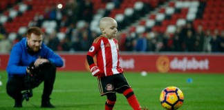 sunderland little fan bradley passes away