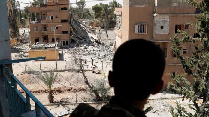 US-backed SDF breaches Raqqa's Old City wall