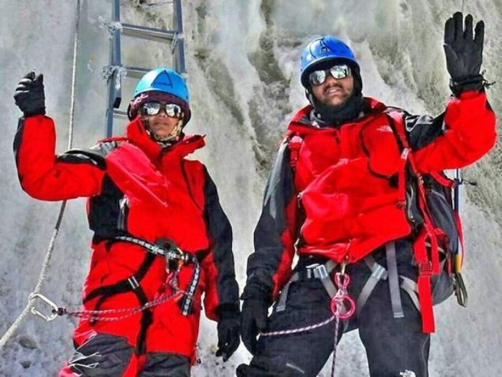police couple fake story on conquering everest expelled from police service