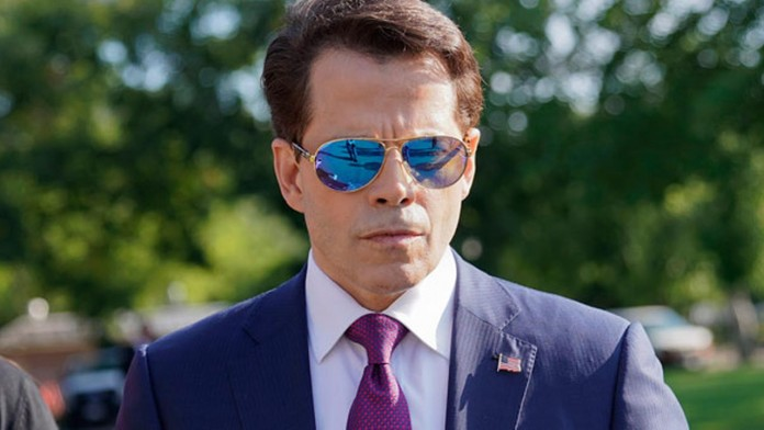 white house communication head Scaramucci ousted