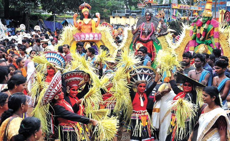 athachamaya procession tomorrow