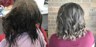 Beauty School Student Transforms Depressed Teen's Hair