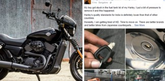 Harley Davidson made in India pathetic condition