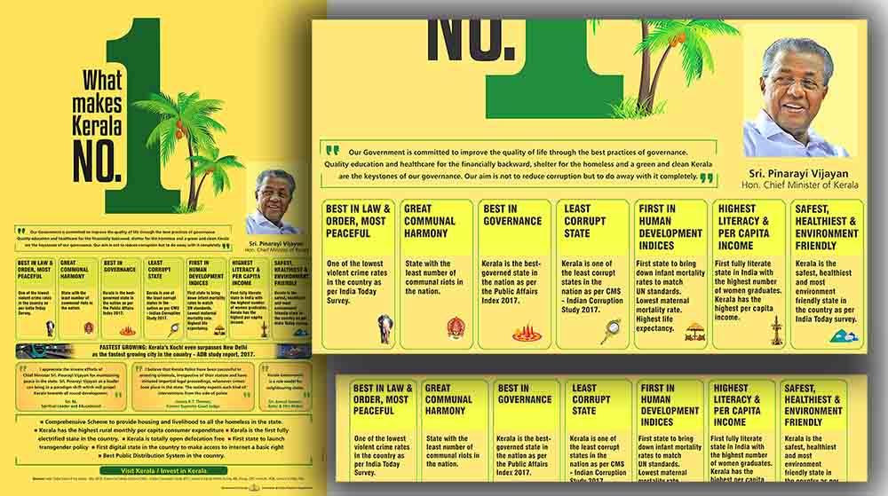 Kerala Govt No1 ad for New Delhi 2