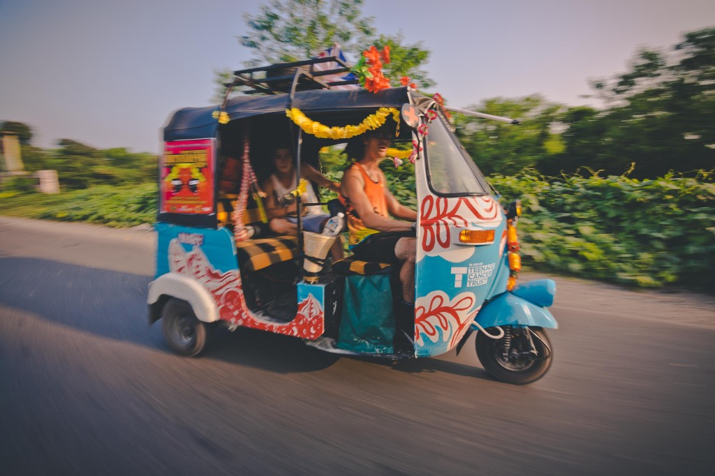 rickshaw run kochi to jaisalmer 2017