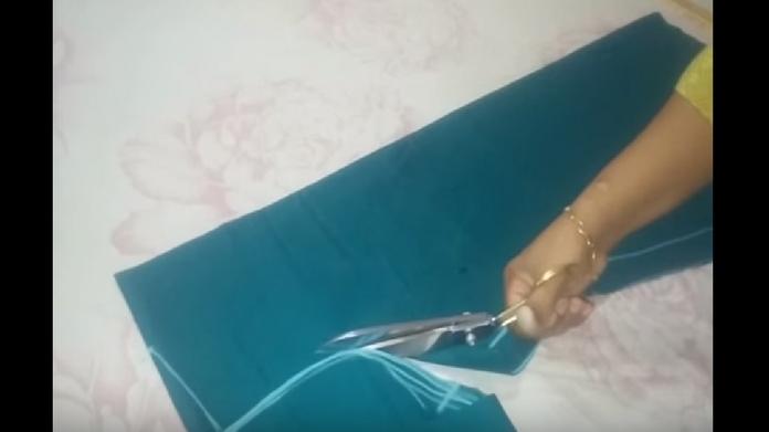 anarkali stitching tutorial