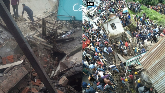 building collapsed one killed in Himachal Pradesh