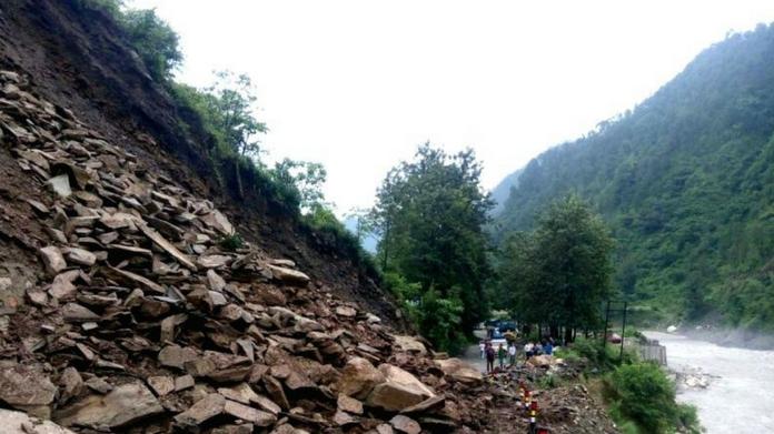 gangotri national highway closed