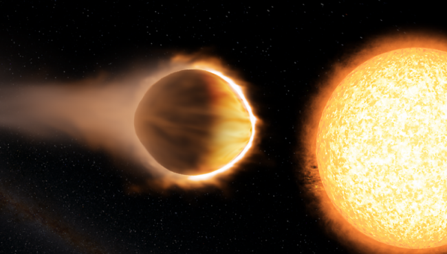 Water atmosphere detected on planet beyond solar system