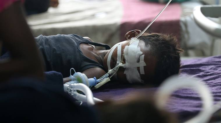 gorakhpur tragedy death toll touches 105 gorakhpur disaster continues 61 kids dead in three days