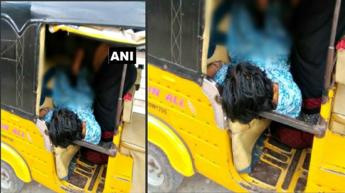 hospital denied entry women gave birth to baby in autorikshaw