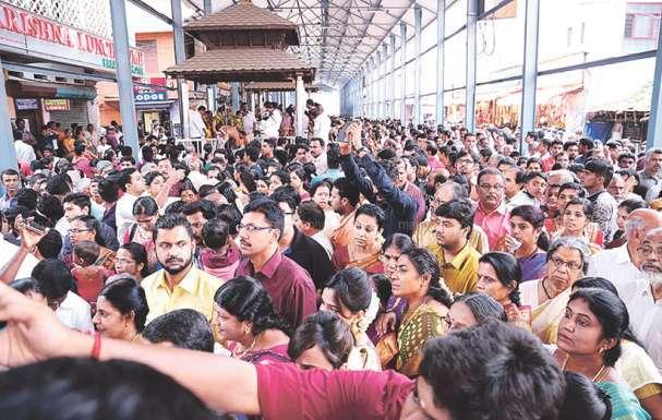 guruvayur temple witnessed 277 wedding today