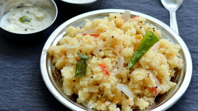 man and woman tried smuggle 1.29 crore rupee in upma