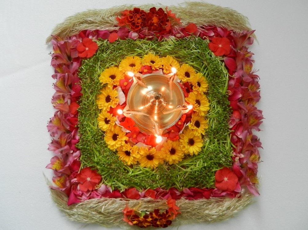 flower carpet making rules for onam