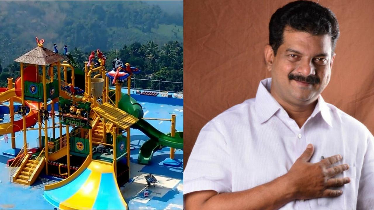 p v anvar water theme park (1) pv anwar park attack issue 14 arrested