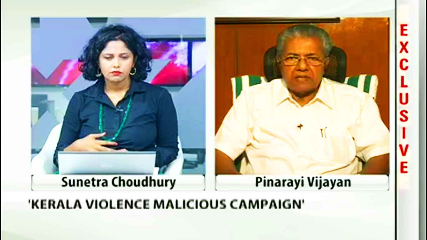 pinarayi vijayan on NDTV