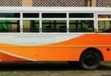 saffron color code for bus