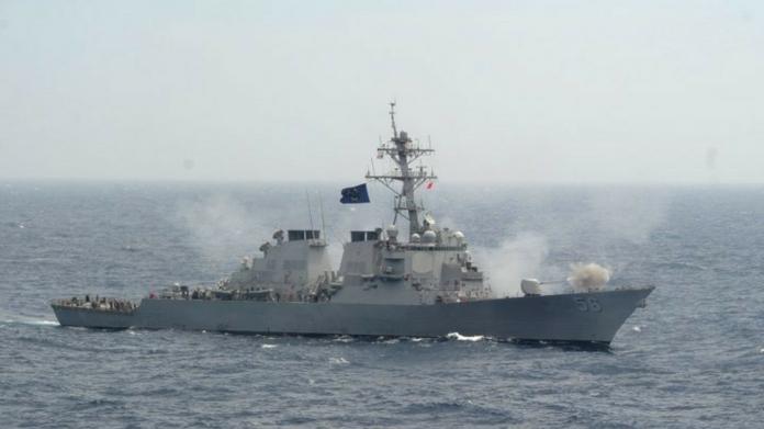 war ship hit oil tanker 10 navy officials missing ship hit boat case against ship