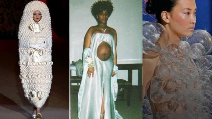 worlds most wierd wedding dresses
