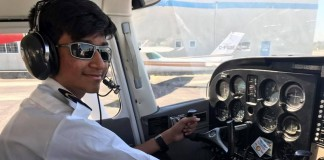 14 year old to be the youngest pilot