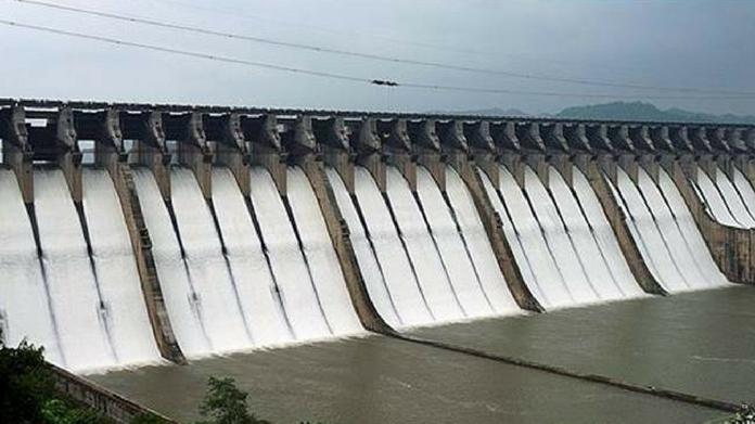 Dam dam water level increased