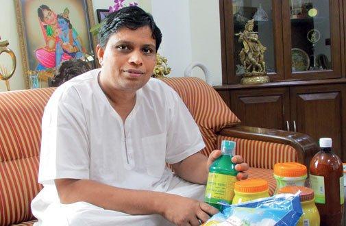 man behind pathanjali