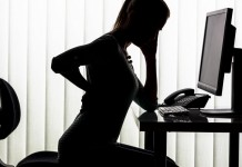 health problems for sititng too long in office desk