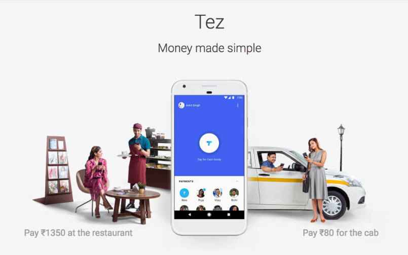 google app tez mobile money transfer