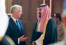 saudi britain signs in defence agreement