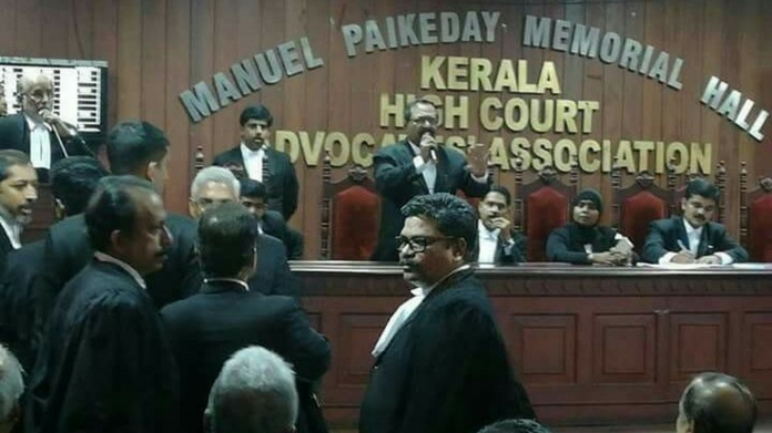 lawyers association to quit public programs of justice navneeti singh