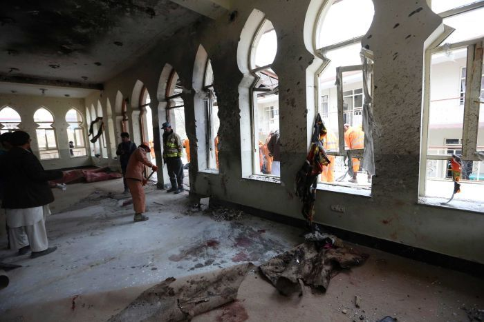 suicide bombing at Kabul killed 60
