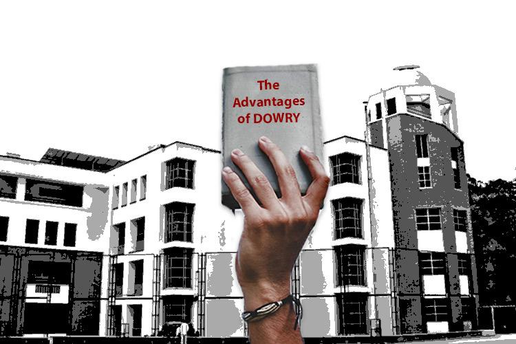 college study material says dowry helps girls