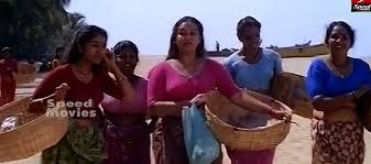 Actress-Chithra-Lungi-Blouse-kadal-cinema
