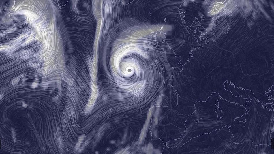Ireland ophelia storm