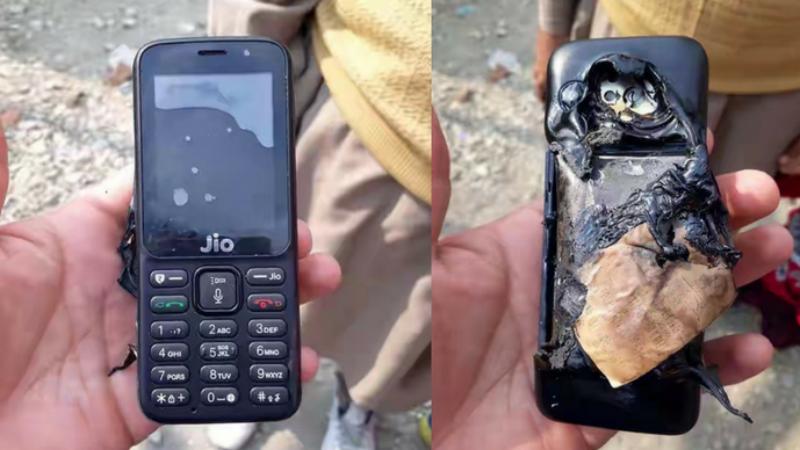 jio phone burst